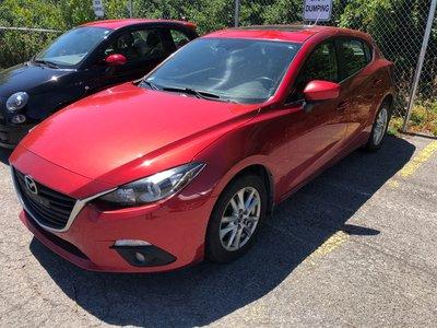 2014 Mazda Mazda3 Sport NAVI BACKUP CAMERA SUNROOF 6 MT