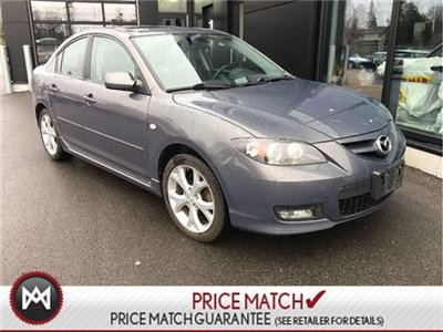 Captivating 2007 Mazda Mazda3 GT SUNROOF WINTER TIRES ON RIMS CLEAN