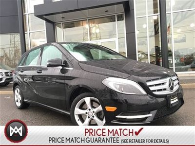2014 Mercedes-Benz B250 NAV, PARKING & DRIVING ASSIST + MORE! * 2 Years extra warranty on all Certified Pre-Owned