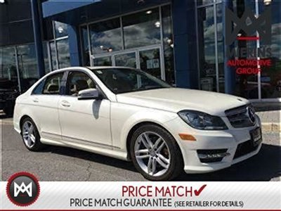 2013 Mercedes-Benz C300 AMG STYLING, AWD, SAT RADIO  * 2 years extra warranty on all CPO's * 150 points inspection by a Mercedes-Benz Certified Technici