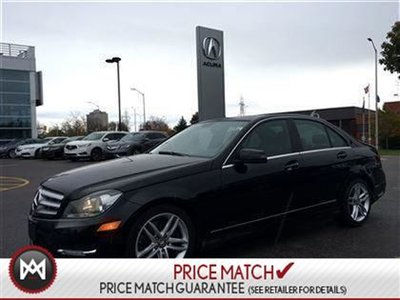 2013 Mercedes-Benz C300 LEATHER AWD SUNROOF