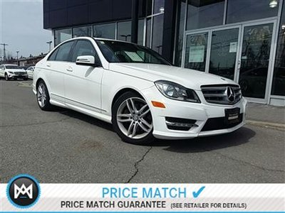 Mercedes-Benz C300 Premium pkg, Sport pkg, Parktronic! 2013