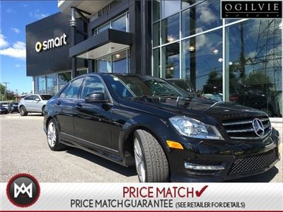 Pre-owned 2014 Mercedes-Benz C300 Amg styling, panoramic