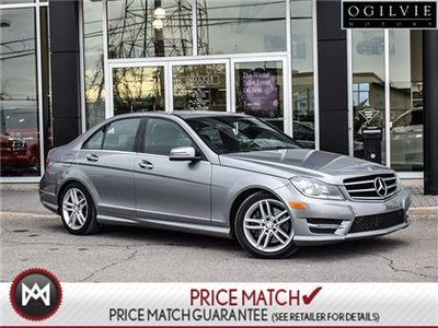2014 Mercedes-Benz C300 AWD, Navi, Sunroof