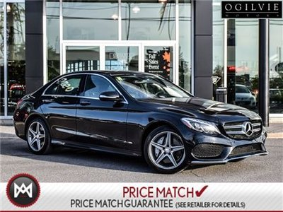 2015 Mercedes-Benz C300 Panoroof, Nav, AMG styling