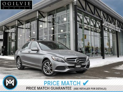 2015 Mercedes-Benz C300 4Matic Navi Panoroof Parktronic