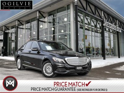 2015 Mercedes-Benz C300 4Matic Panoroof Navi Exclsive
