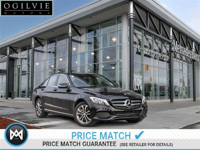 Mercedes-Benz C300 4Matic Navi Panoroof Back up camera 2015