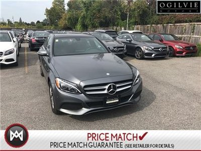Mercedes-Benz C300 Leather navigation sunroof 2017