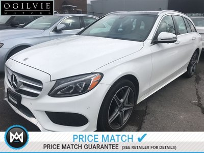 Mercedes-Benz C300 4Matic Navi Panoroof Sat radio AMG styling 2018