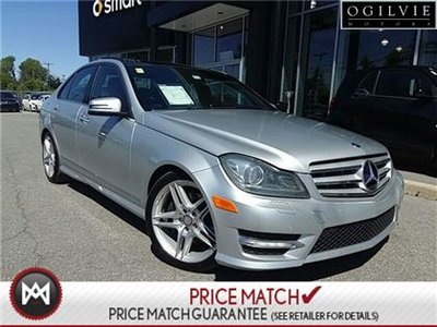 Mercedes-Benz C350 Metallic paint, rear view camera, panoramic sunroof 2013