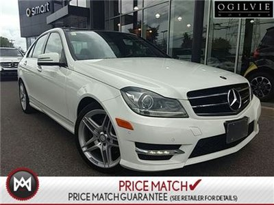 2014 Mercedes Benz C350 AvantGarde Edition, AWD, Panoramic Sunroof
