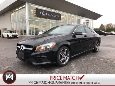 2015 Mercedes-Benz CLA-Class AWD, Leather, Alloys