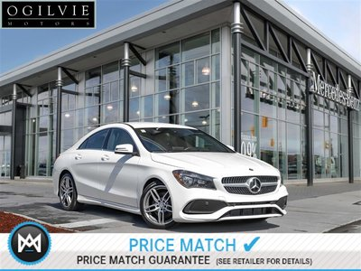 Mercedes-Benz CLA250 4Matic Navi Blind spot assist Apple CarPlay 2017