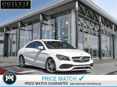 2017 Mercedes-Benz CLA250 4Matic Navi Blind spot assist Apple CarPlay