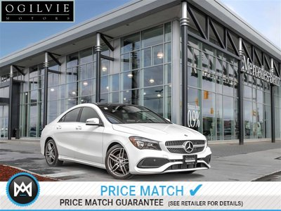 2017 Mercedes-Benz CLA250 4Matic Apple carplay AWD Panoroof