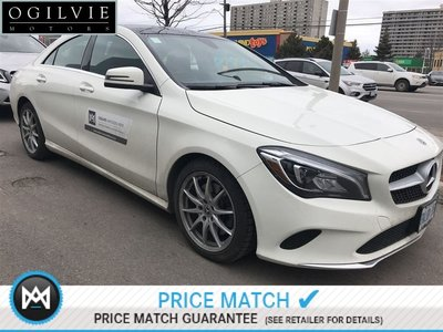 Mercedes-Benz CLA250 4Matic Panoroof Apple Carplay LED Headlamps 2018