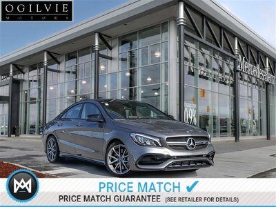 2017 Mercedes-Benz CLA45 AMG Back up Cam, Panoroof, apple Carplay