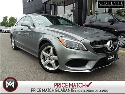 Mercedes-Benz CLS400 Harman/kardon logic7 surround sound system, 360 camera 2015