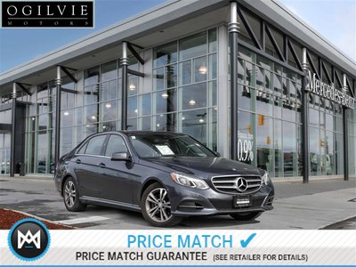 2014 Mercedes-Benz E300 4Matic Panoroof Parktronic Driving assistance