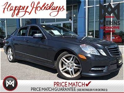 2013 Mercedes-Benz E350 AWD, BACKUP CAM, PARKTRONIC  * 150 points inspection by a Mercedes-Benz Certified Technician * Interest Rates Starting At 0.9%