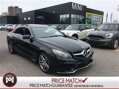 Mercedes-Benz E350 4MATIC AMG SPORT PANORAMIC BLIND SPOT BLOWOUT PRICE CLEAROUT 2014
