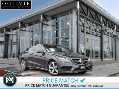 2015 Mercedes-Benz E400 4Matic PRE-SAFE brake REAR-END Collision System 360 Birds Eye View