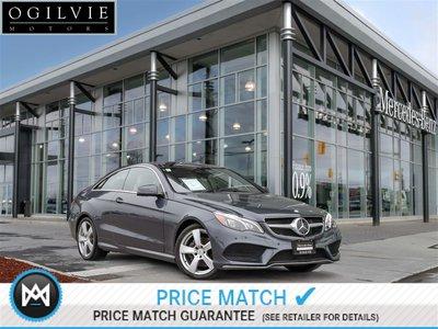 Mercedes-Benz E400 4Matic PRE-SAFE brake REAR-END Collision System 360 Birds Eye View 2015