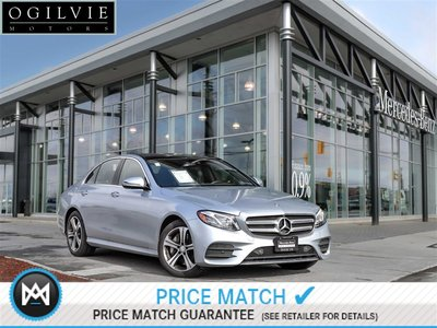 2017 Mercedes-Benz E400 4Matic Panoroof, Navigation, Heads-up display