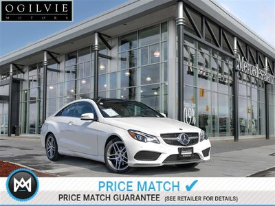 2017 Mercedes-Benz E400 4Matic Navi Panoroof Pre-Safe brake + Pre-Safe plus