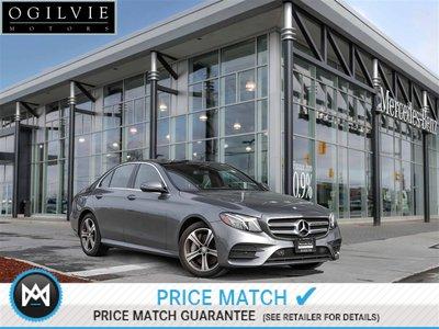 2017 Mercedes-Benz E400 4Matic Panoroof Navi Apple Carplay