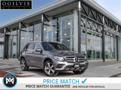 2018 Mercedes-Benz GLC300 4Matic Panoroof Navi Back up cam