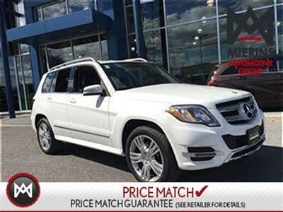 2013 Mercedes-Benz GLK250 AWD, DIESEL, 7G-TRANSMISSION  * 2 years extra warranty on all CPO's * 150 points inspection by a Mercedes-Benz Certified Technic