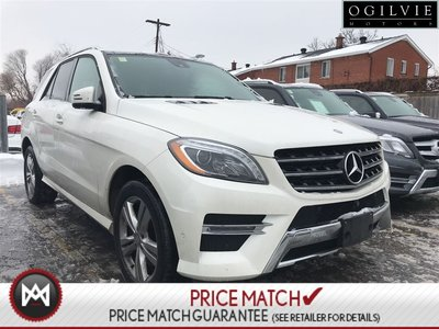 2014 Mercedes-Benz ML350 Message seats, parktronic, 360 cam