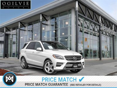 2015 Mercedes-Benz ML350 4Matic Panoroof 360 camera Navi Airmatic
