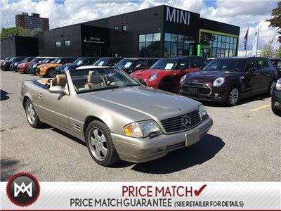 1999 Mercedes-Benz SL500 1999 HARDTOP SOFTTOP CONV SL500 CLASSIC