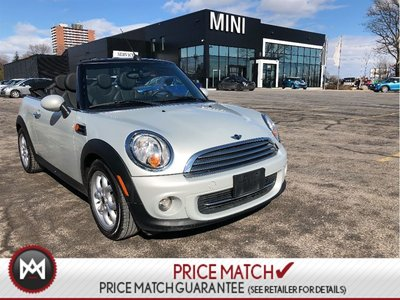 2013 MINI Cooper Convertible CONVERTIBLE WARRANTY BLUETOOTH MEDIA CONNECT
