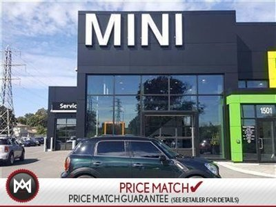 2012 MINI COOPER S ALL4 Countryman OXFORD GREEN ALL WHEEL DRIVE 5 PASSENGER SUNROOF HEATED SEATS