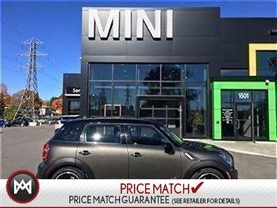 2012 MINI COOPER S ALL4 Countryman ROYAL GREY COLOR! ALL4 AWD SUNROOF LEATHERETTE AUTOMATIC XENONS 18INCH DOUBLE SPOKE RIMS