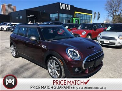 2016 MINI Cooper S Clubman GENERAL MANAGER'S DEMO FULLY LOADED MASSIVE DISCOUNT