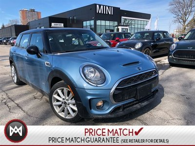 MINI Cooper S Clubman AWD NAVI PANORAMIC BLUE ON BLACK  5 PASSENGER SALE 2017