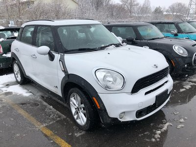MINI COOPER S Countryman ALL4 NAVIGATION 6 SPEED MANUAL TURBO AWD HEATED SEATS 2014