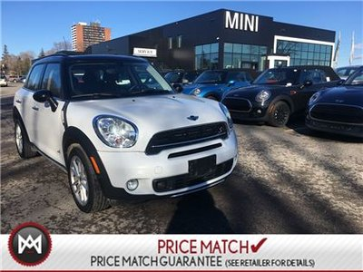 MINI COOPER S Countryman ALL4 AWD HEATED SEATS PANORAMIC 5 PASSENGER 2016