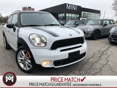 2012 MINI Cooper S Countryman EXT WARRANTY 200KM AWD TURBO WHITE 5 PASS