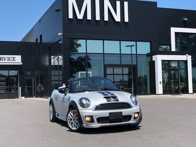 Pre Owned 2014 Mini Cooper S Roadster Roadster Turbo Leather Jcw Kit