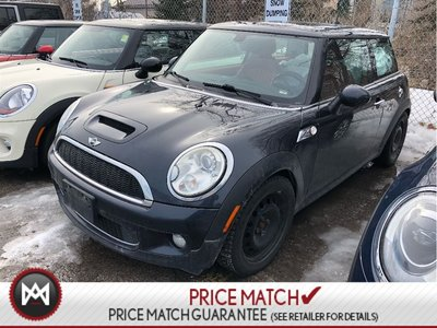 2009 MINI Cooper S COOPER S RED LEATHER 6SPEED MANUALSUNROOF