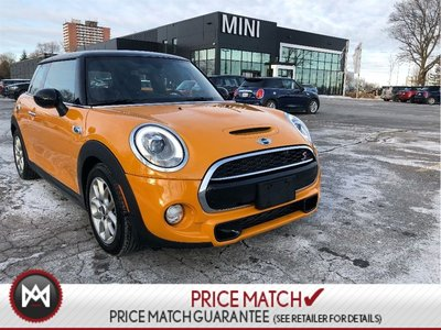 2015 MINI Cooper S NAVIGATION VOLCANIC PANORAMIC BLACK ROOFLINER