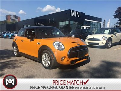 MINI Cooper S NAVIGATION VOLCANIC PANORAMIC BLACK ROOFLINER 2015