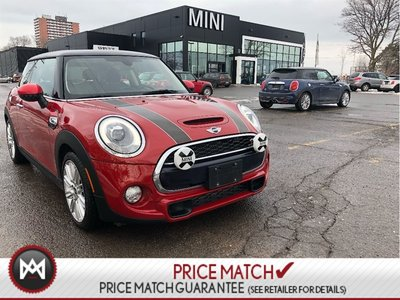 2015 MINI Cooper S L.E.D. JCW LOOK AUTO PUNCH LEATHER BLAZING RED