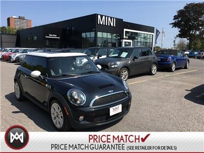 2010 MINI Cooper S REAL CAMDEN TURBO 6 SPEED MANUAL LOADED PANORAMIC